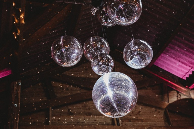 Why have one glitter ball when you can have 7?