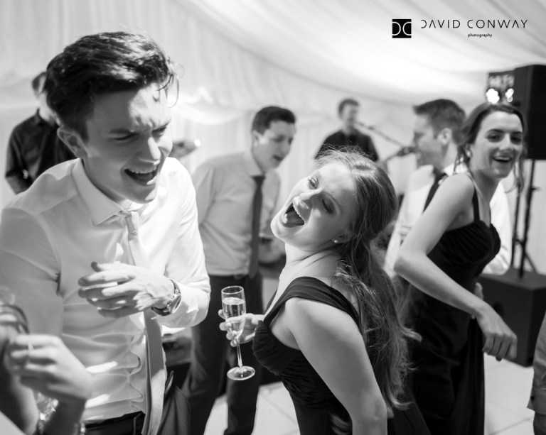 Get your groove on and make sure the photographer's there!