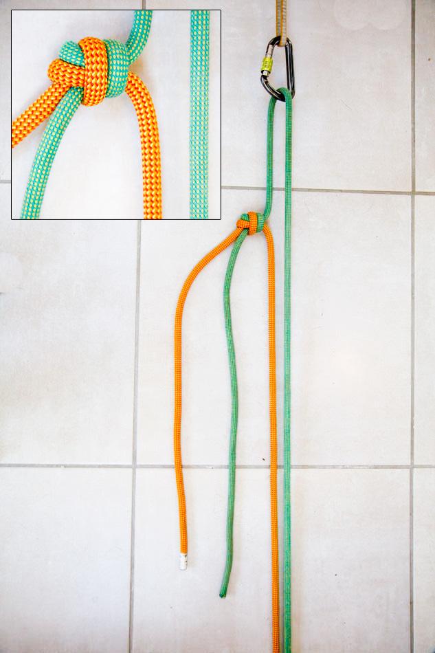 Overhand knot / Overhand bend © Jack Geldard