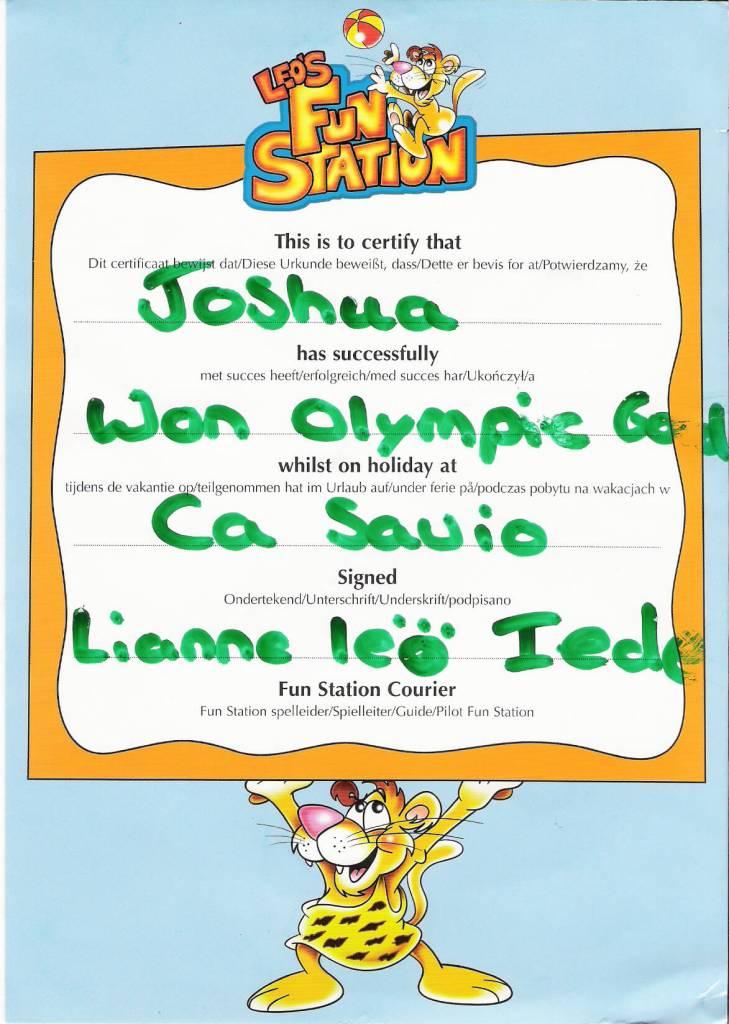 Ca' Savio - Leo's FunStation award
