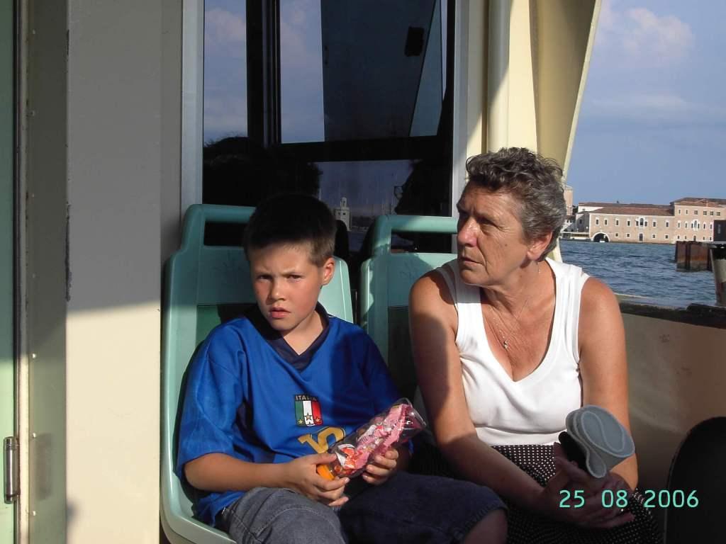 grandson & Nan in Venice