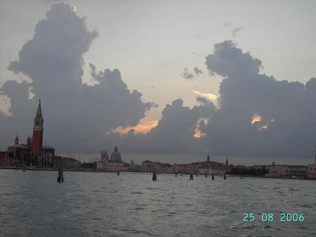 Moody skies over Venice