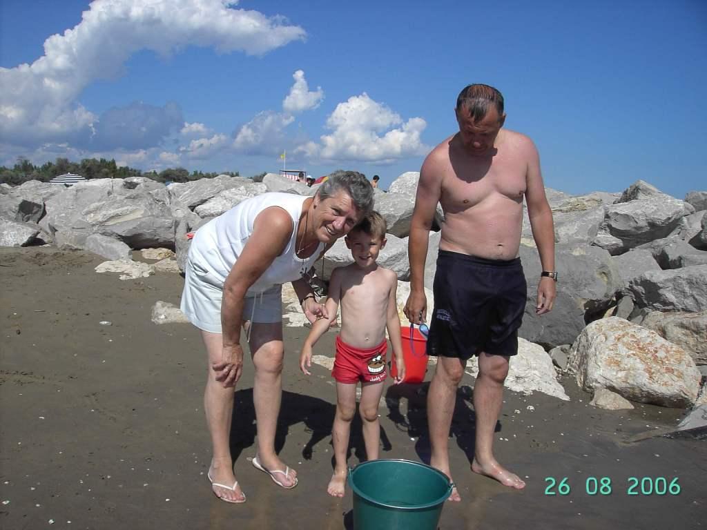Ca' Savio - on the beach