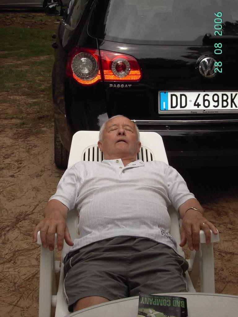 Ca' Savio - a sleeping man