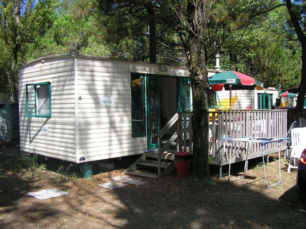 Ca' Savio a typical caravan