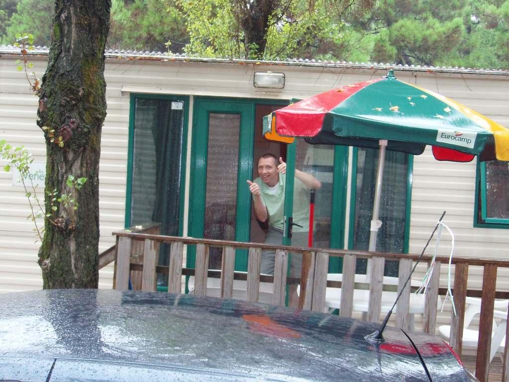 Ca' Savio fun in the rain