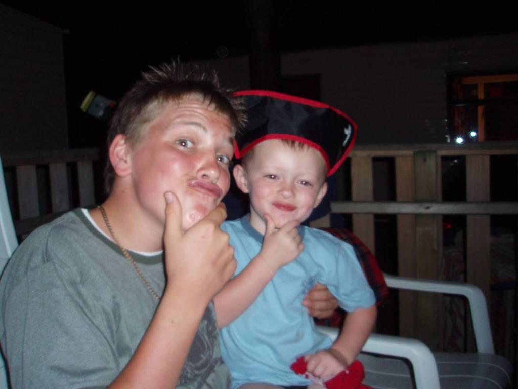 Ca' Savio - boys being silly