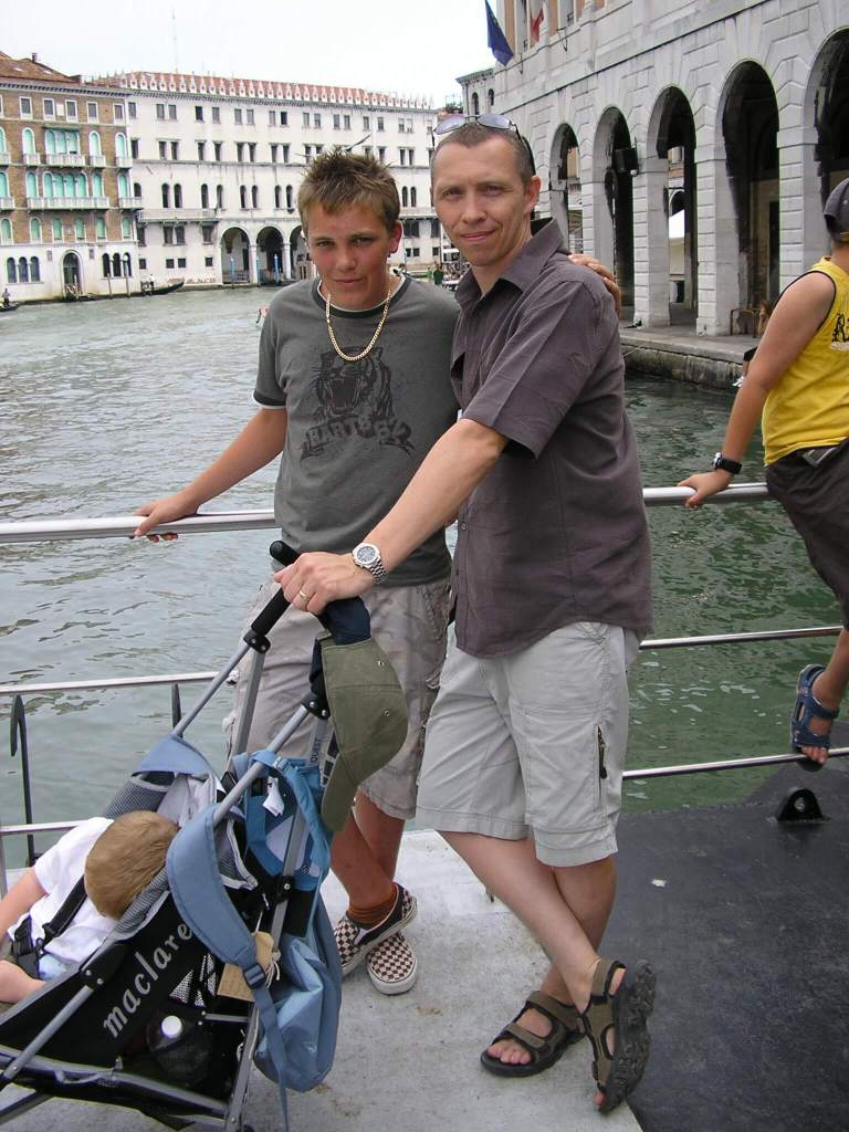 A nephew & his Uncle in Venice