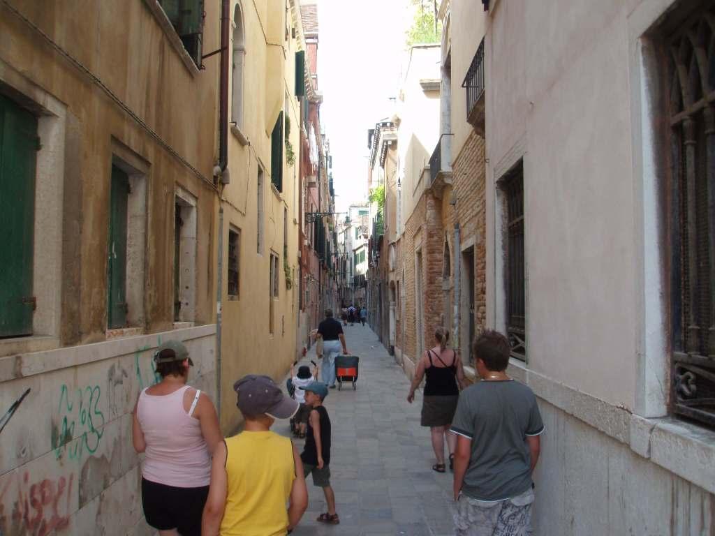 A Venetian street scene