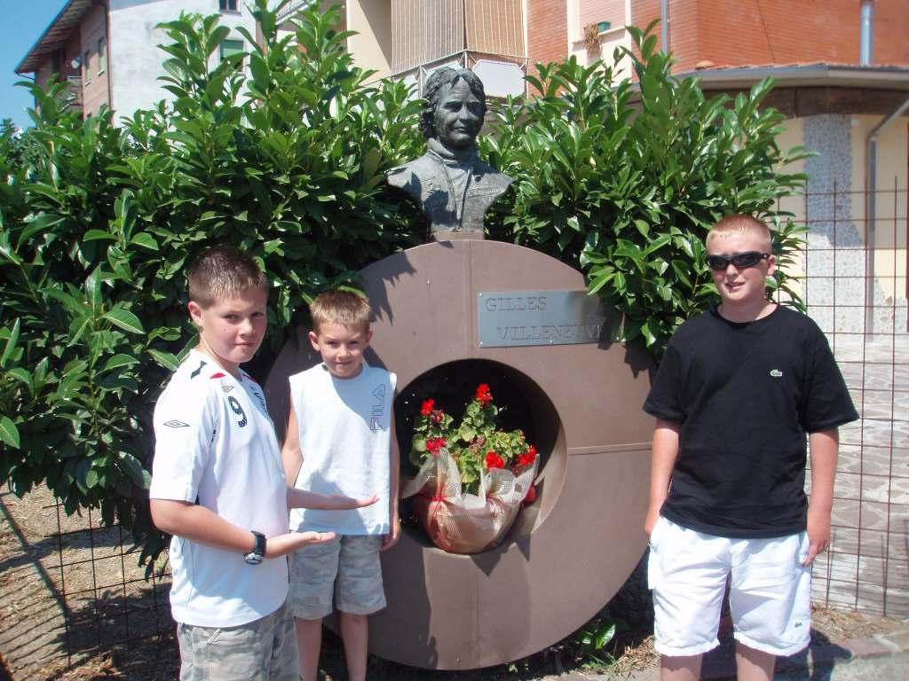 Gilles Villeneuve memorial