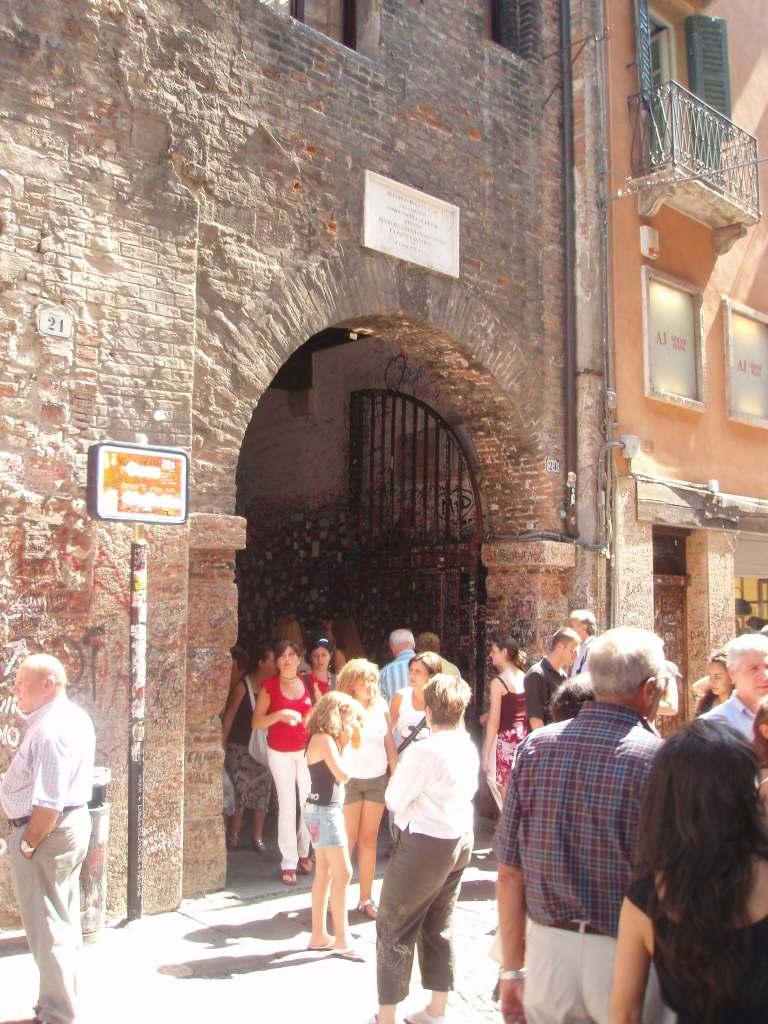 Entrance to Juliet's Courtyard, Verona