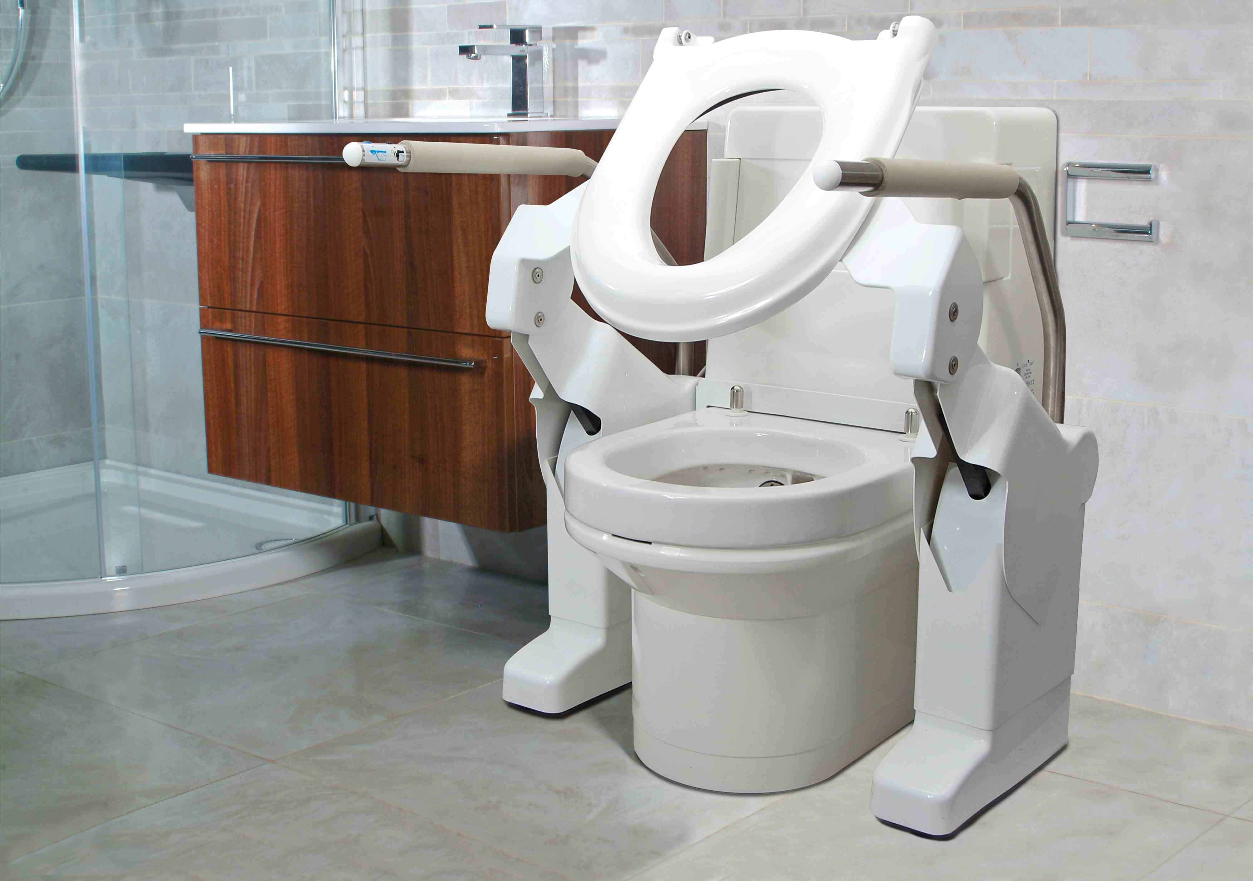 Toilet adaptations  helping you stay in your own home