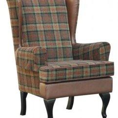 High Backed Chairs For The Elderly Spotlight Australia Chair Covers Stirling Tartan Back Orthopedic Fireside Arm - 20