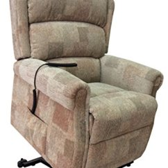 Motor Chairs Elderly Quentin Wheelchair The Cambridge Dual - Riser Recliner / Lift And Tilt Chair In Autumn Mosaic ...