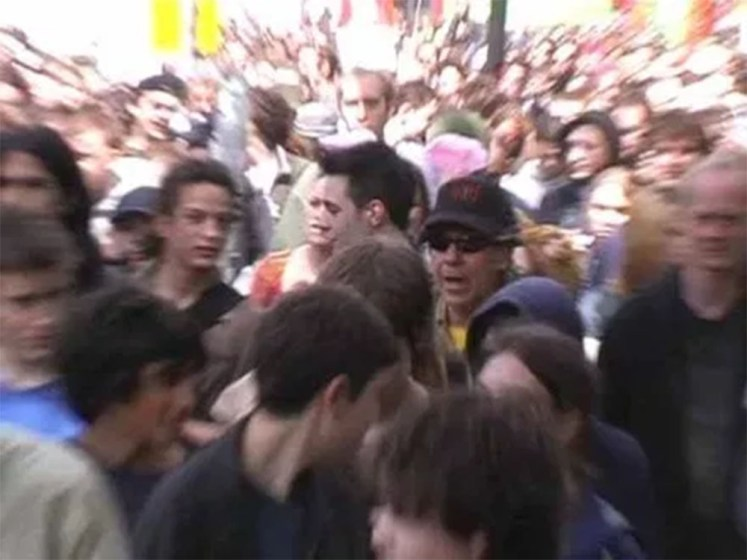 The legalise cannabis  march, Brixton, 2002