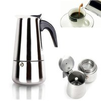 450Ml Stainless Steel Espresso Coffee Maker Stove Top 9 ...
