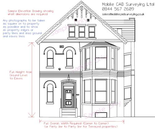 small resolution of elevational drawings