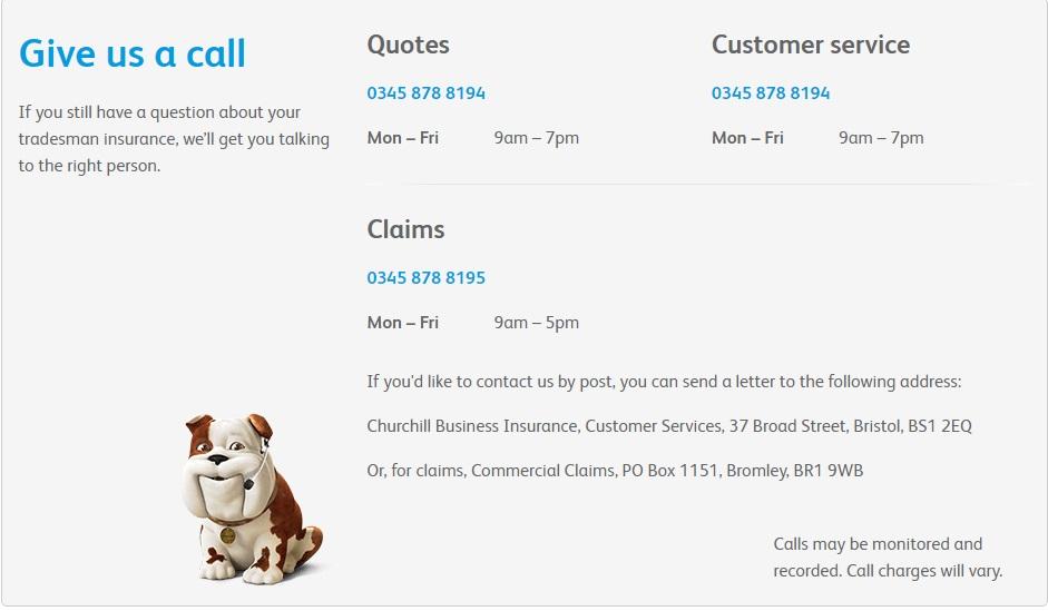 Churchill Insurance UK Customer Service Contact Number