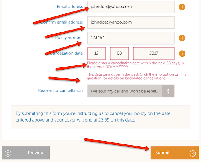 How To Cancel Esure Guide Uk Contact Numbers