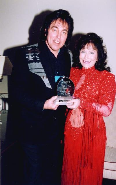 Donny with Loretta Lynn