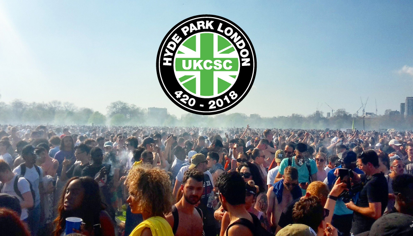 Record Breaking Numbers At London Hyde Park 420 Gathering