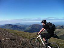 mountain biking Llanberis path