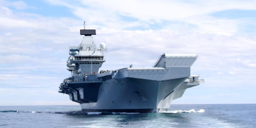 HMS Queen Elizabeth expected to sail for aircraft trials today