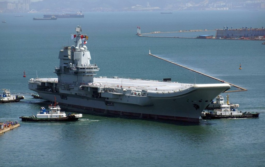A look at China's new Type 002 'Shandong' aircraft carrier