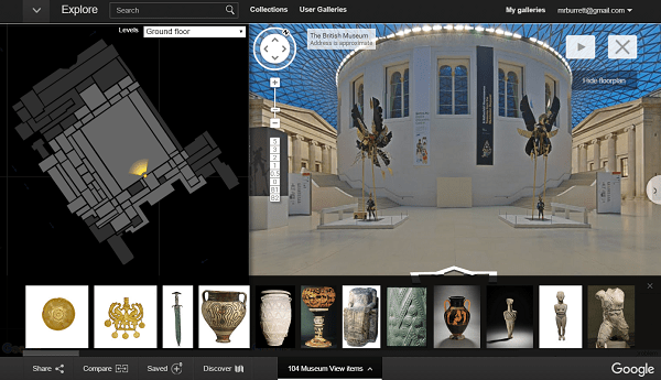 Google Cultural Institute - British Museum