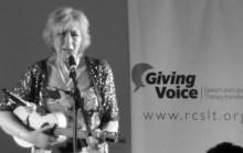 2014-06-07 Giving Voice Ashington Football Club Liz-02-crop2