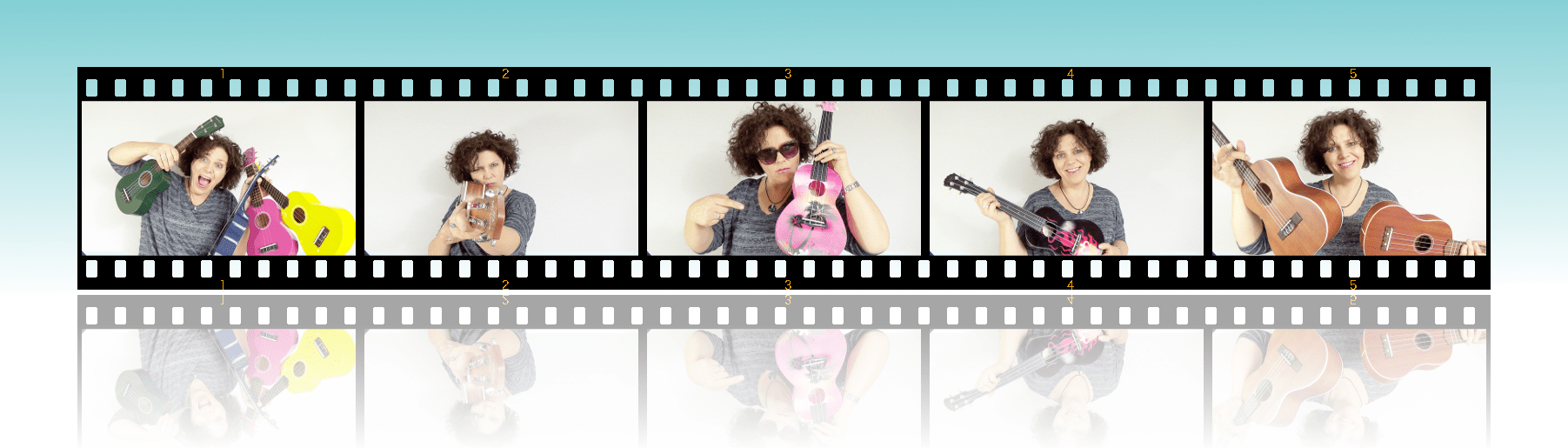 Ukelele4U Website Filmstrip