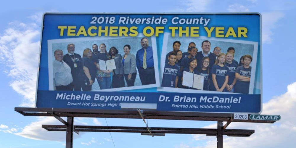 PSUSD Has First State Teacher Of Year Moving to Nationals