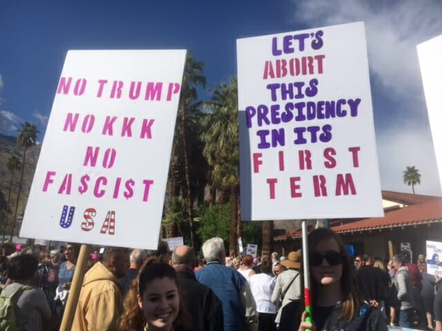 Hundreds Rally to Give Trump, GOP Hell