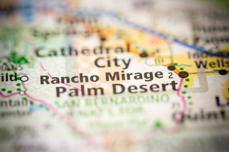 Stage Set for Rancho Mirage Forum