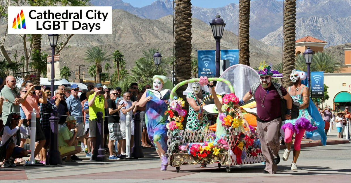 Cathedral City Sets Stage for LGBT Days