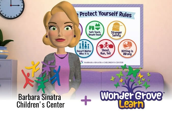 Ms. Barbara Tells Kids How to Protect Themselves
