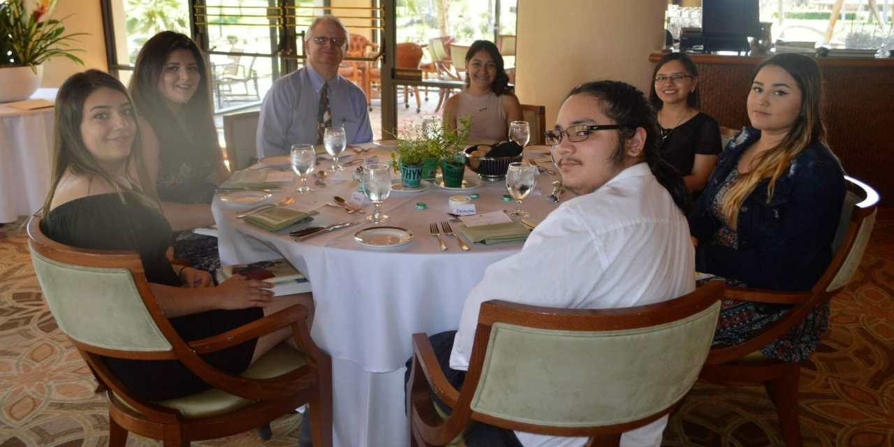 RMHS Culinary Seniors Treated to Fine Dining Experience