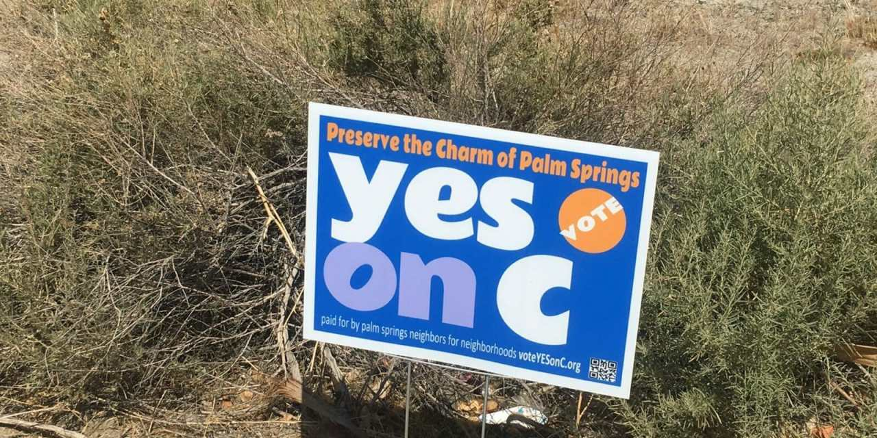 Small Hotels of Palm Springs Say, YES on Measure C