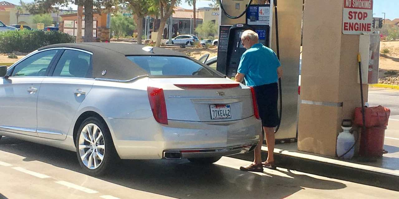 Gasoline Prices 14.4 Cents Lower than Year Ago