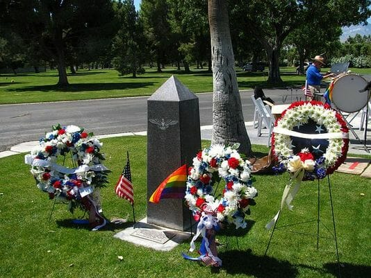 LGBTQ Vets Memorial Now Official State Memorial