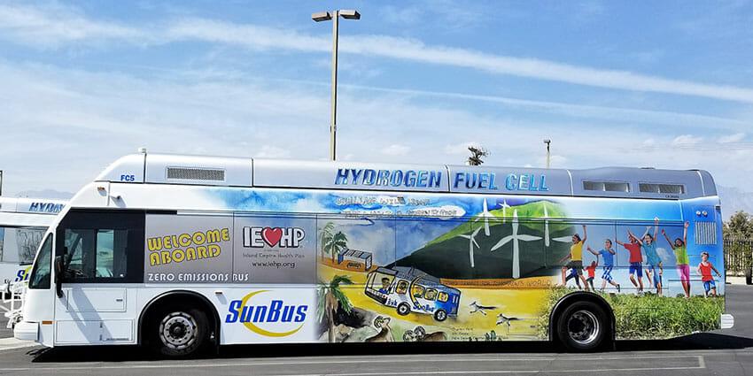 SunLine buses showcase award-winning student art