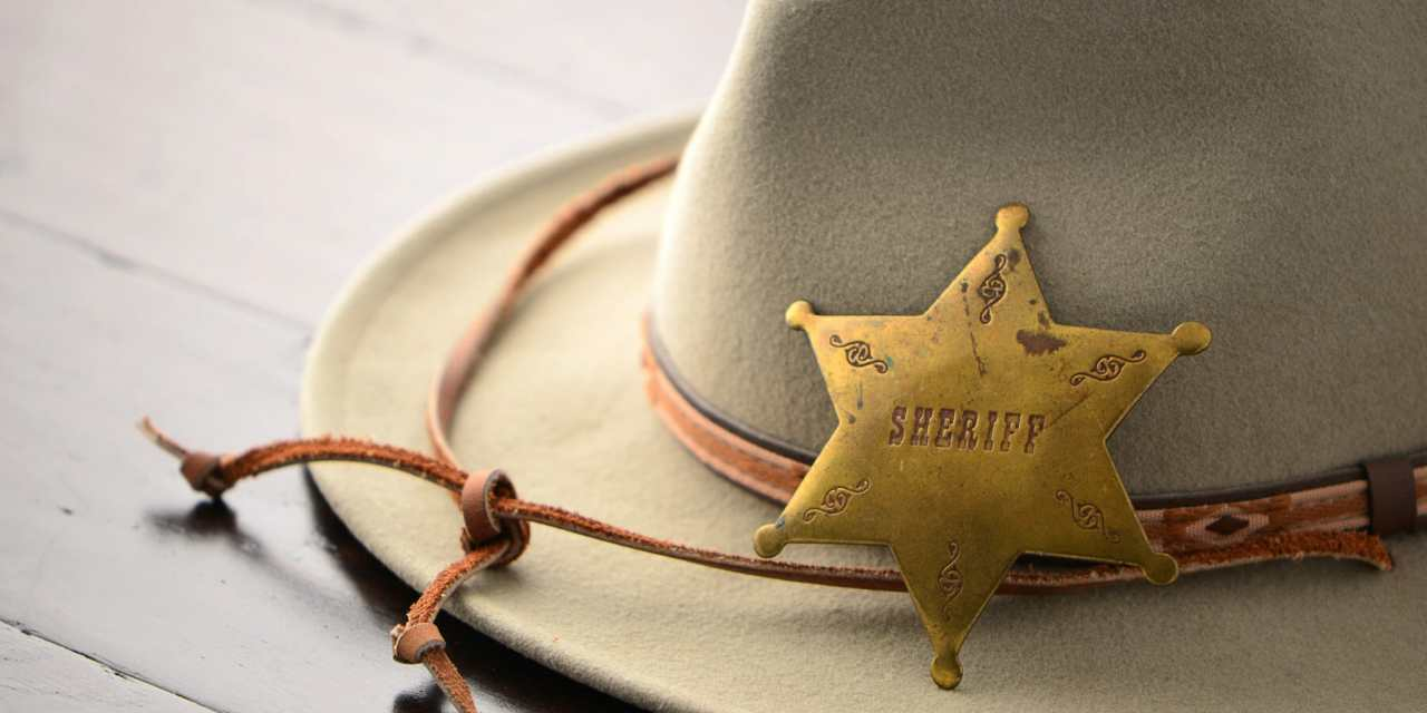 Sniff is Right Man to be Sheriff [Opinion]