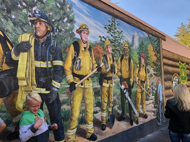 Cranston Firefighters Honored with Heroes Mural