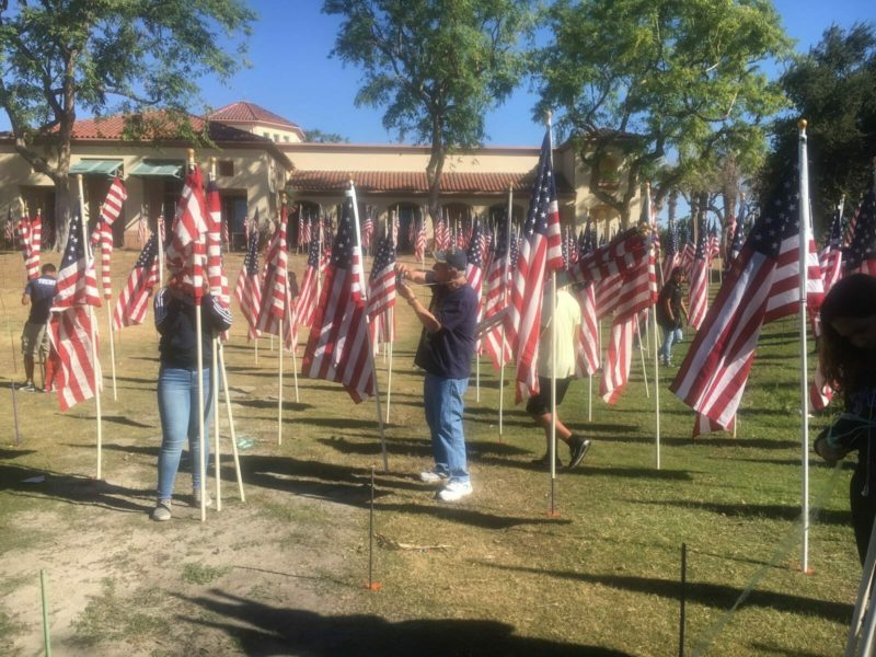 6,900 U.S. Flags Comprise Healing Field