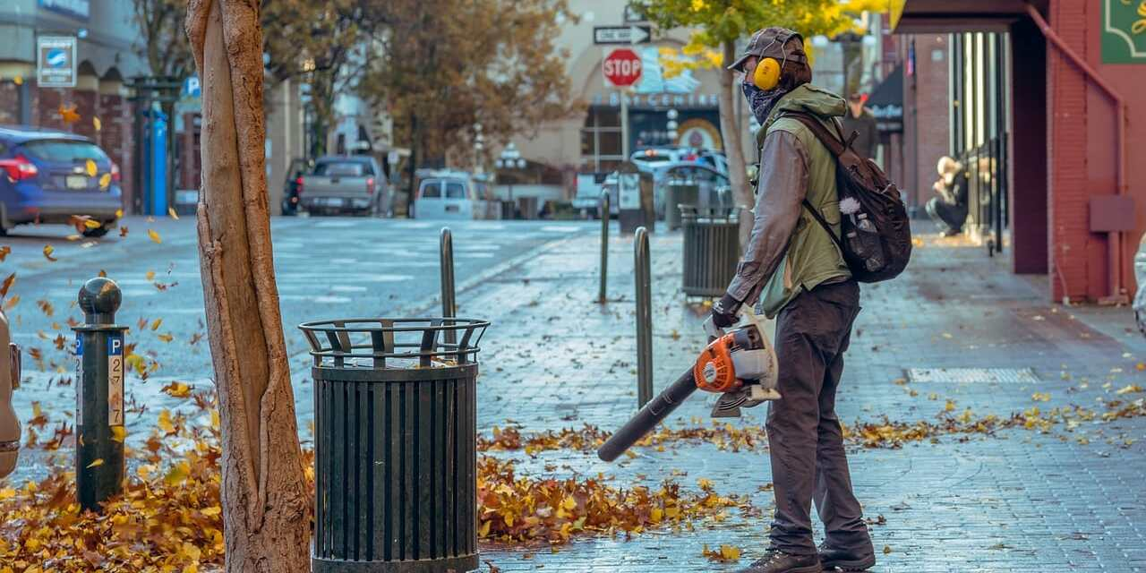 Incentives Announced for Electric Leaf Blower Use