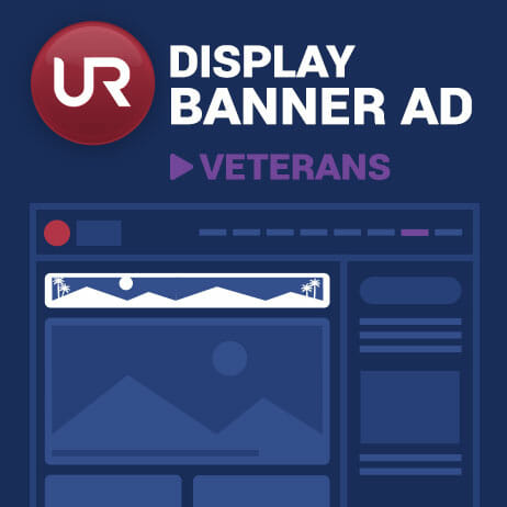 Display Veterans Section Banner Ads