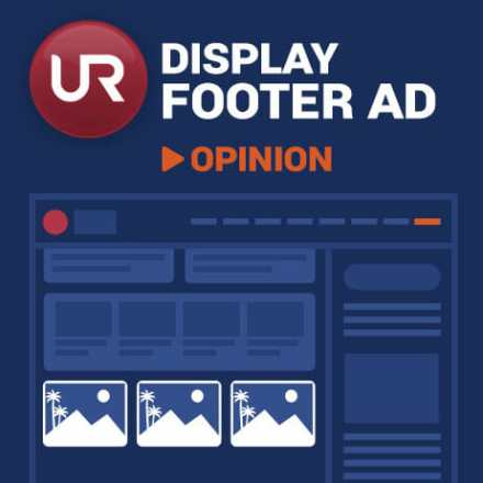 Display Opinion Section Footer Ads