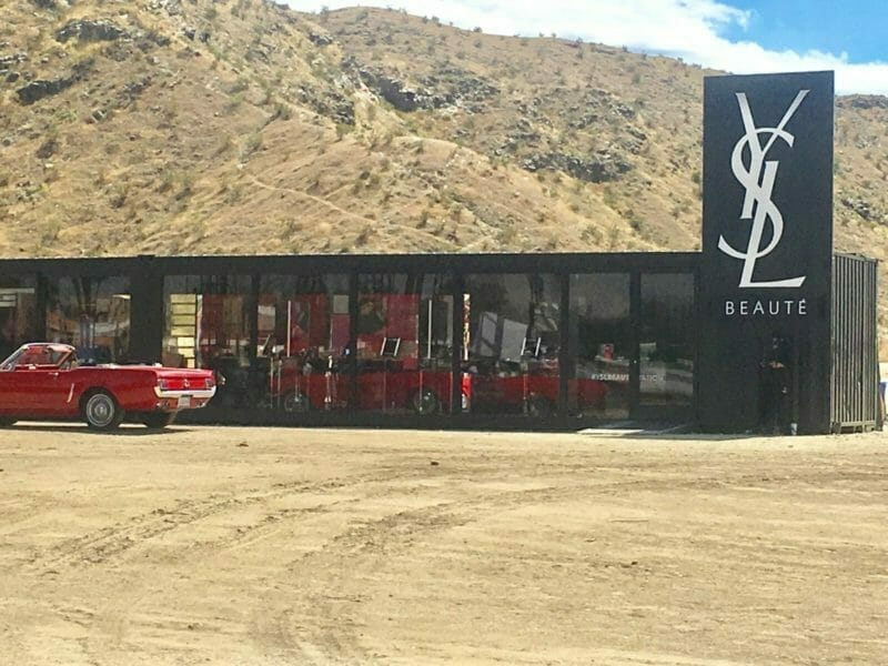 Yves Saint Laurent Opens Shop in Cathedral City
