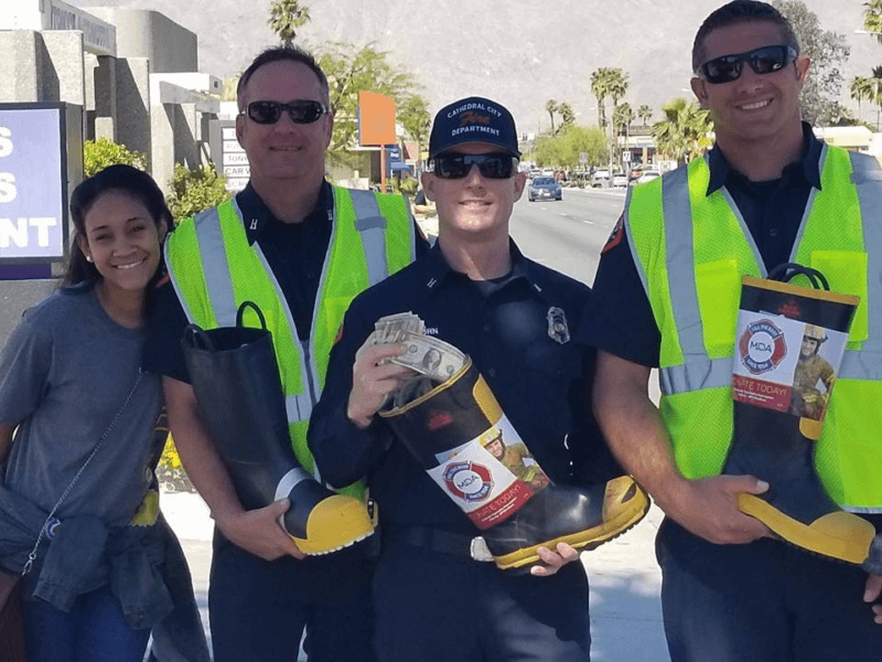 Cathedral City Firefighters Plead: Fill the Boot