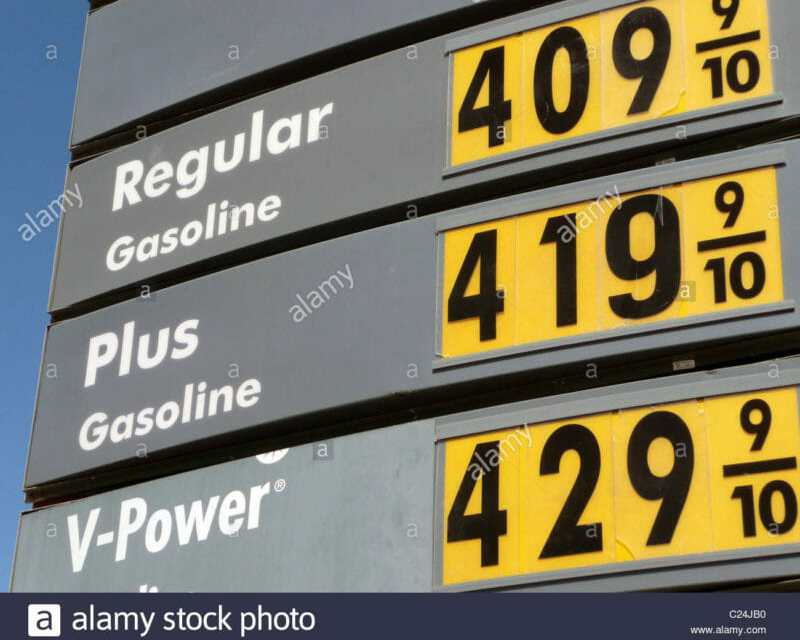 $4 Per Gallon Expected, First Time Since July 2014